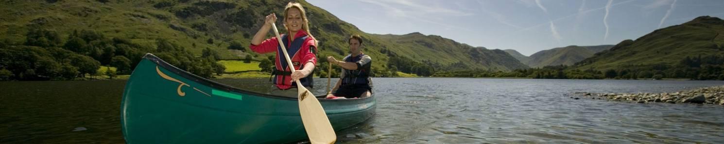 Canoeing in Cumbria