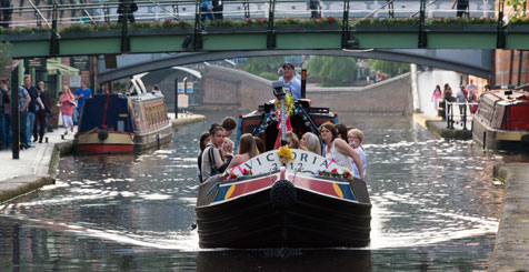 Canal Boats of Birmingham