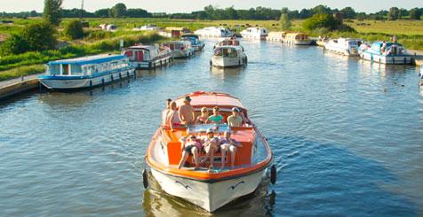 Norfolk Boating, England