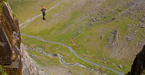Via Ferrata, Honister Pass