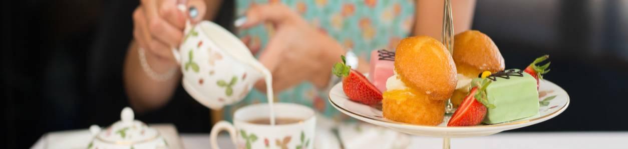 Cornish Cream Tea in England