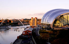 Newcastle et Tyne and Wear