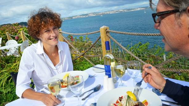 Dining on the English Riviera
