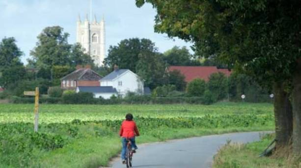 Cycle the surrounding countryside