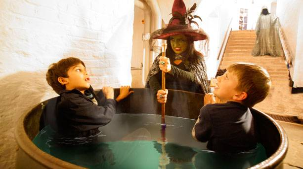 Witches at Longleat House