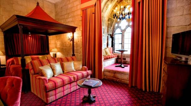 The Greenwich Room at Langley Castle