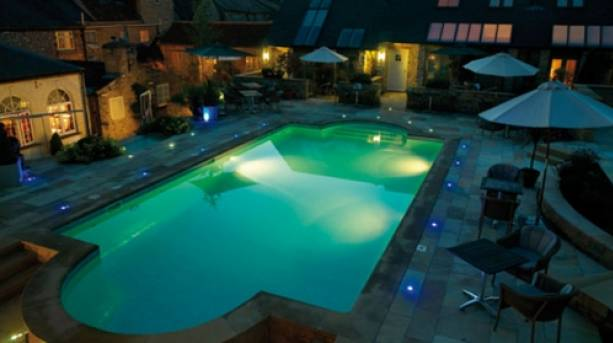 External shot of the pool