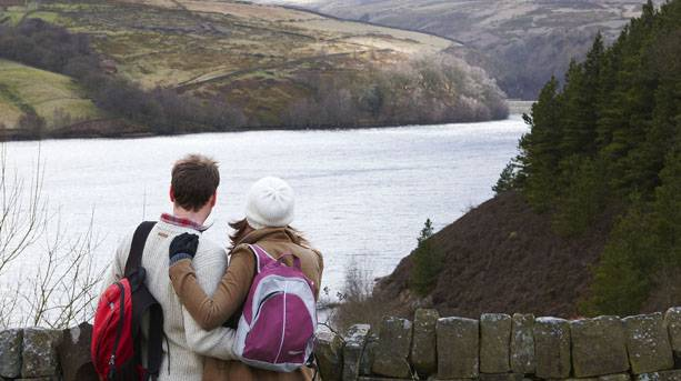 Digley reservoir in the Holme Valley