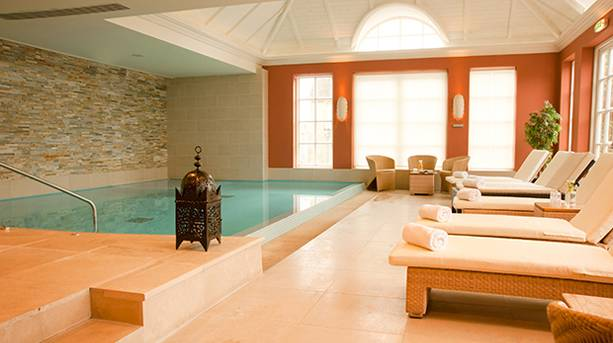 Spa pool at Cotswold House Hotel