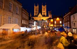 Get in the spirit at the Lincoln Christmas Market
