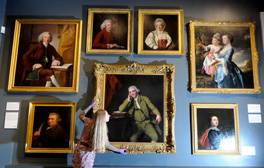 See Joseph Wright paintings at Derby Museum & Art Gallery