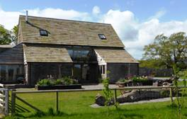 Spendid views and a splendid bath at Cothill Barn