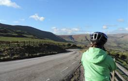 Enjoy two-wheeled winter adventures in the Peak District