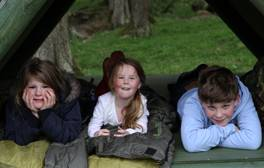 Go wild camping in the Northumberland Countryside