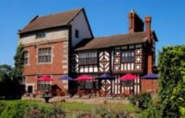 Enjoy four-star dining at Albright Hussey Manor Hotel