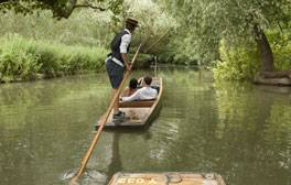 Go punting on the River Cam