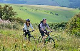 Cycle and canoe in the iconic Seven Sisters Country Park