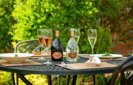Enjoy a Michelin-starred meal in the Wiltshire countryside
