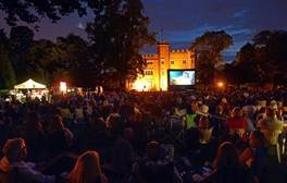 Watch films under the stars at Hertford Castle Open Air Cinema