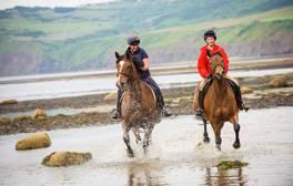 Saddle up for windswept romance on the Yorkshire coast
