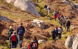 Walking boots on for Walk Scilly Weekend