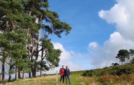 Take a guided walking tour of Mortimer Country