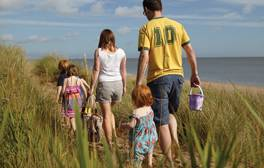 Enjoy old-fashioned fun on the beach in Skegness